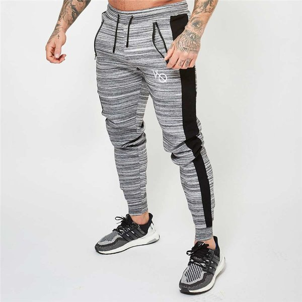 2018 Yeni adamın Pantolon Rahat Sweatpants Katı Moda yüksek sokak Pantolon Pantolon Erkek Joggers boy marka yüksek kalite