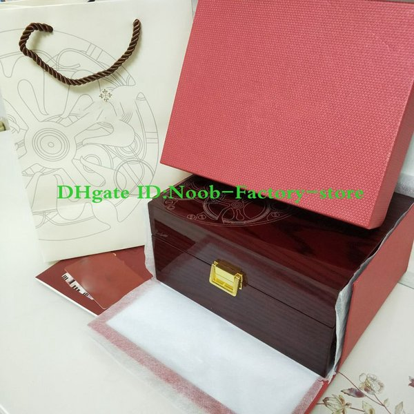 Free shipping Wholesale 2019 New PP 324 Luxury Original watch Box Papers Box for Scatola Bote Caja Estuche Watch Watches Boxes