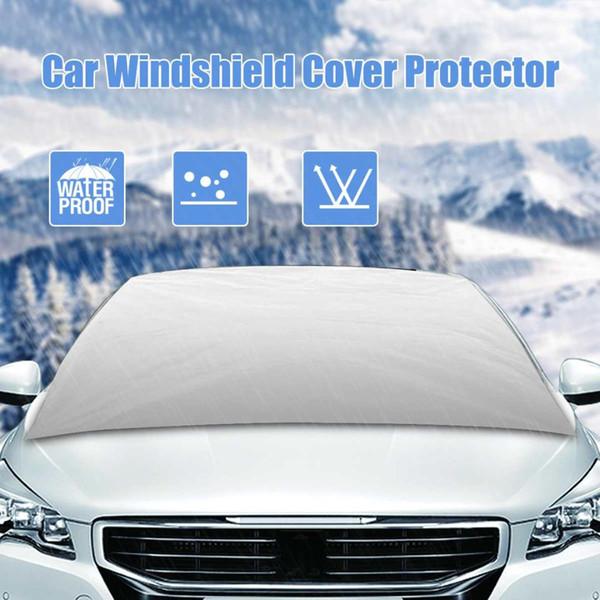 Evrensel Araba Cam Kapak Otomatik Güneşlik Kalkanı Ön cam güneşlik Kar Buz Frost Kapak Koruyucu