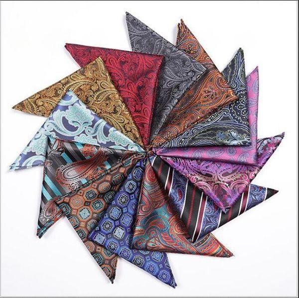Trajes Pañuelos Pañuelos de bolsillo Pañuelo de boda Pañuelo de seda Pañuelo hecho a mano Rayas Cuadros Accesorios de moda Hanky Regalos B4742