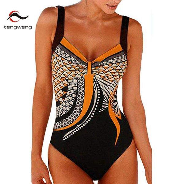 Orange bathing suit