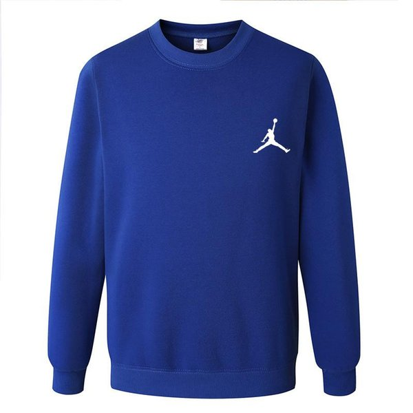 Men Tide brand classic Flying man print pullover  basketball motion pullover Fashion round neck sweater sell like hot cakes wholesale