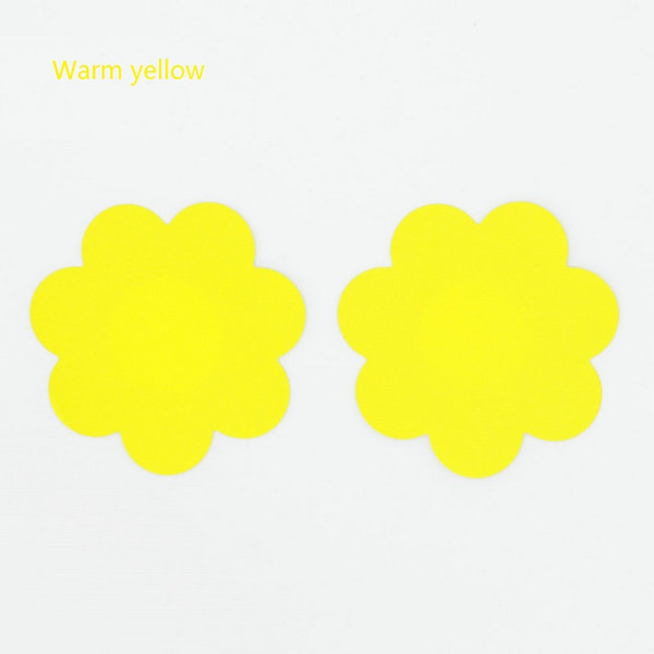 أصفر دافئ