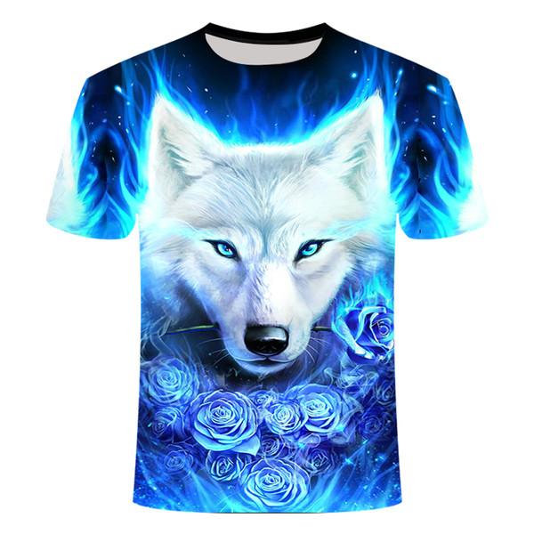 Men women tee shirts Cartoon Women Tshirt Comfortable Casual Tops Tee Unisex Funny 3D Print Animal Summer Short Sleeve T-Shirts Top #Y4