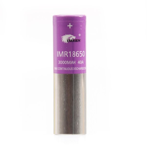IMR 18650 3000mAh 40A Violet