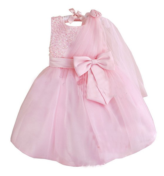 Retail Evening Gowns For Kids Formal Beading Party Communion Flower Girl Dresses Pageant Dresses For Little Girls