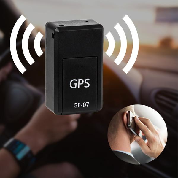 GF-07Analyseur d'alarme perdu Mini-suivi en temps réel GSM / GPRS Système de suivi KID / Système de surveillance du système voiture / chien Localisateur magnétique Positionnement Télémonitorage Écouter