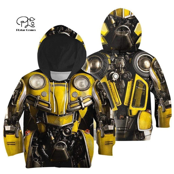 Familie passende Outfits Rüstung Anzug Kinder 3D Print Hoodies Mutter und Tochter Kinder Jungen Sweatshirts / Weste / Jacke / T-Shirts