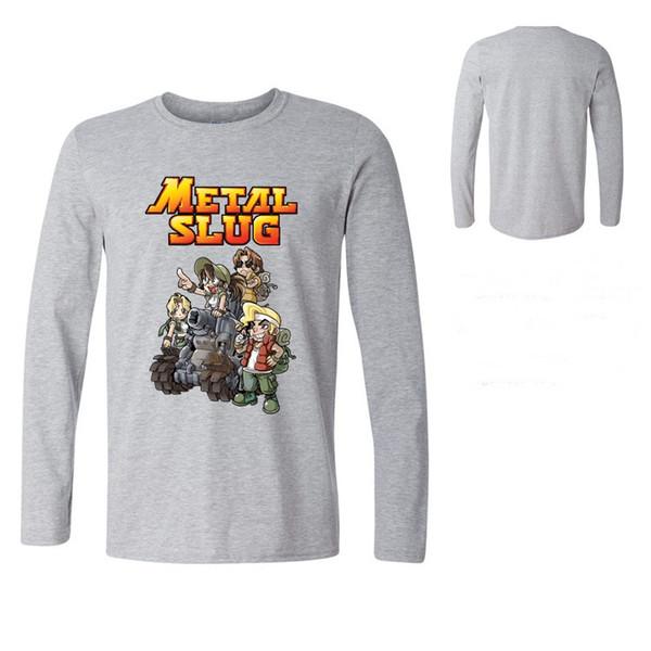 coupon codes order super popular Mens Metal Slug T Shirt Vintage Game Super Vehicle Graphic T Shirt Homme  TShirt Man Casual Fitness Top Long Sleeve Tees Awesome T Shirt Designs Tea  ...