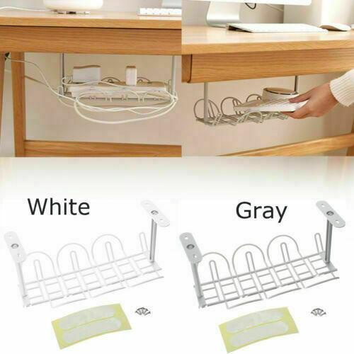2019 Under Desk Cable Management Tray Storage Organizer Wire Cord Power Charger Plugs From Xiaomei886809 2 26 Dhgate Com