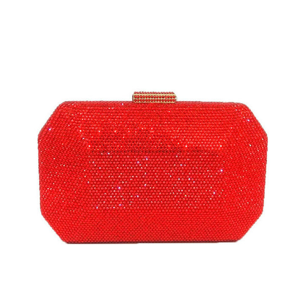 Red Crystal Bag