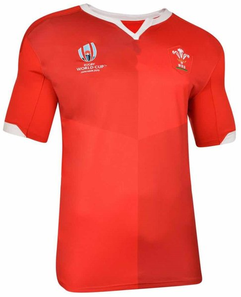 WALES HOME RUGBY WORLD CUP 2019 JERSEY Japan Samoa World Cup FIJI home Jersey shirt national team rugby jerseys Size S-XXXL (can print)