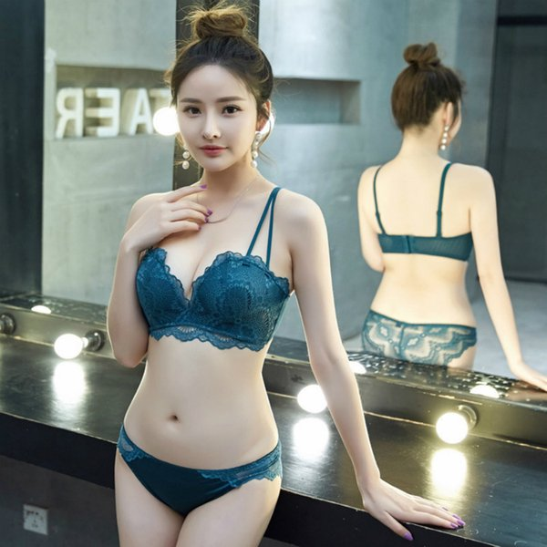 Underwear Suit Bra Gathered Without Steel Ring to Collect Auxiliary Breast Anti-sagging Sexy Small Chest Adjustable Upper Bra