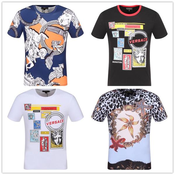 Moda 2019 designer di lusso italiano di marca Polos da uomo tag ape patch ricamato polo shirt t shirt magliette pantaloncini abbigliamento tee