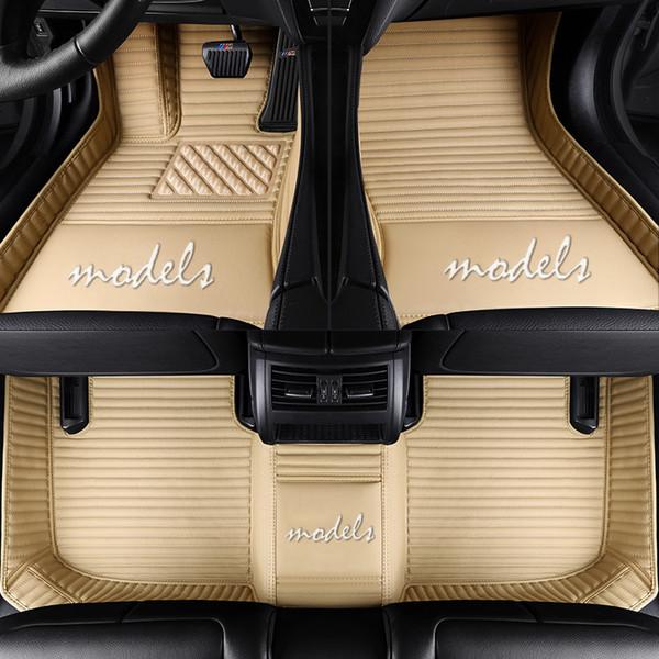 Tappetini speciali per auto personalizzate per Kia LOGO Sorento Sportage Optima K5 Forte Cerato K3 Tappeti per moquette impermeabili in pelle Cadenza