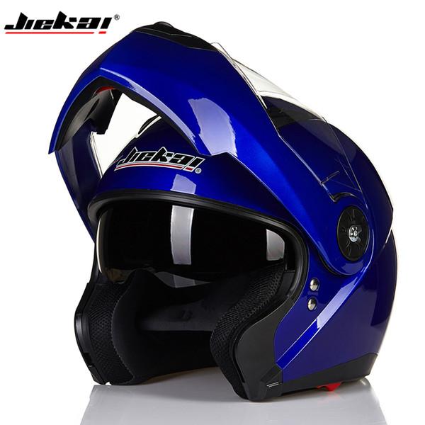 2017 NEW JIEKAI 115 Flip Up Motorcycle Helmet motorcross motorbike full face helmet With Inner Sun Visor Dot
