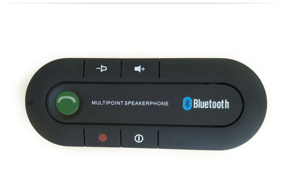 Sun Visor Bluetooth Speaker phone MP3 Music Player Wireless Bluetooth Handsfree Car Kit Bluetooth Receiver Speaker Car Charger 120pcs BT-980