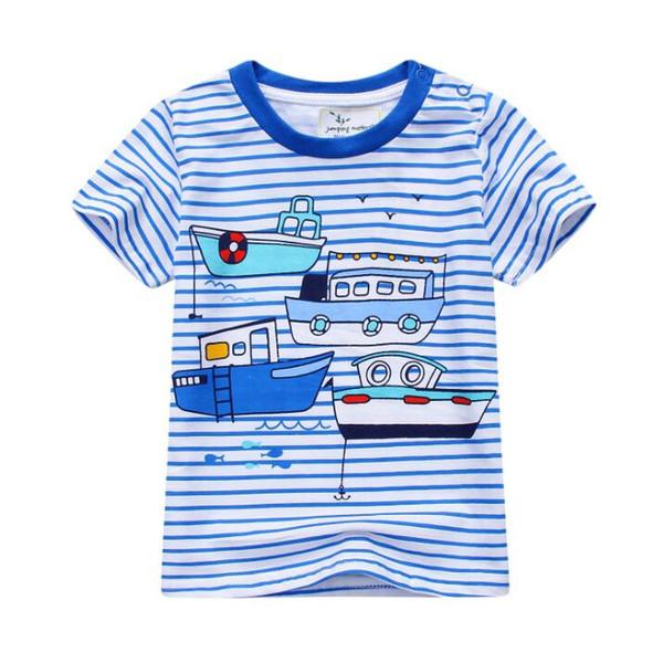 66dbdb28dbe New Summer Girls Boys Kids Tees Tops Cotton Cartoon T-Shirt Character T  Shirt