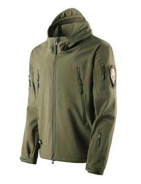 top popular TAD Tactical Jackets Shark Skin Stalker Soft Shell V4. Generation Jackets waterproof, warm, breathable, wear-resistant, windproof 2021