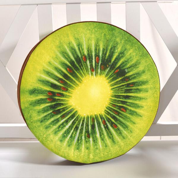 Coussin Lifelike Simulation Pizza délicieux fruits orange pastèque Pillow Kiwi Nouveautés