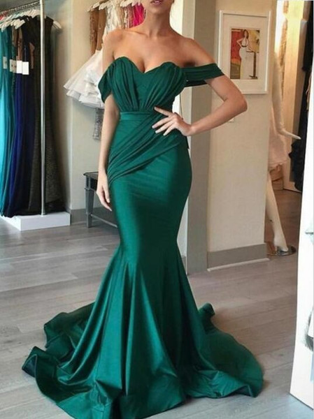 New Arrive Prom Dresses With Sashes Off Shoulder Short Sleeves Chiffon Elegant Evening Dresses Ruffles Women Party Gowns Hot Sale