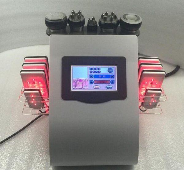 8шт Липо лазерные колодки RF радио частоты для похудения машина ультразвуковой липосакции кавитации похудения машина жира уменьшить целлюлит оборудование