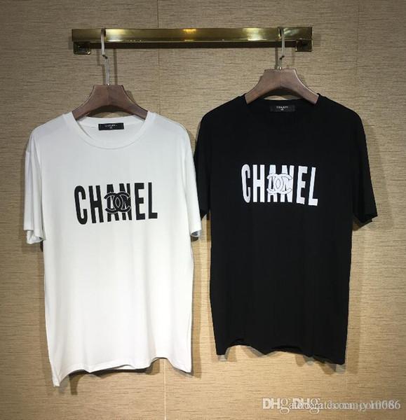 19 Colors MODE Full logo Letter Printed menT-shirt Short Sleeve women Hip Hop Street Outdoor wear Style Tops Tee T Shirt Homme