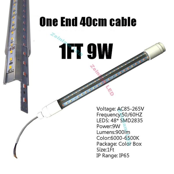 1FT 9W Clear Cover