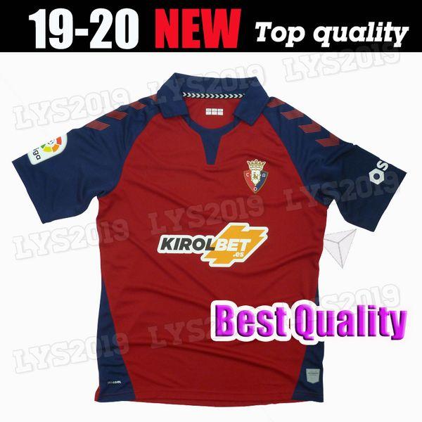 nueva camiseta de fútbol 2019 2020 CA Osasuna 19 20 local visitante R.Torres 10 Rubén García 14 Chimy avila Brandon Unai Garcia camisetas de fútbol tailandia