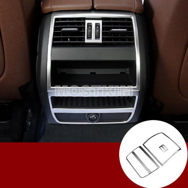 Rivestimento del coperchio della presa d'aria posteriore della console interna per BMW Serie 5 F10 F11 2011-2016