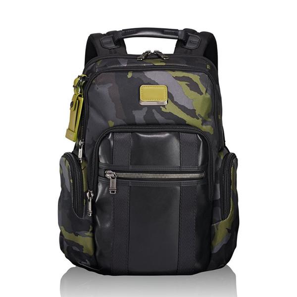 best selling TUMI232681 ballistic waterproof backpack 18 years new Alpha Bravo 15 inch computer bags Sport Outdoor Packs