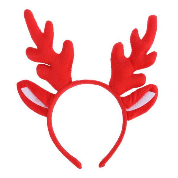 Rennes Antler Hoop cheveux de Noël Les enfants Bandeau Couvre-chef pour les enfants de Noël Costume Party