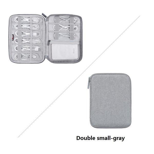 Doble pequeña gris
