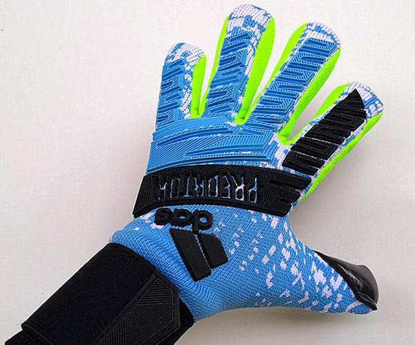 top popular OriginL Brand Predator Goalkeeper Gloves Without Finger Protect High Quality Football Response goalie soccer Professional bola de futebo 2019