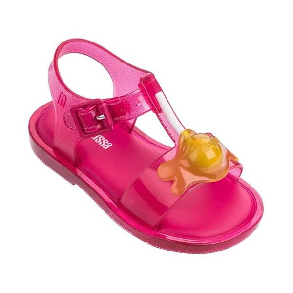 2019 novo mini melissa design verão meninas sandálias sapatos respirável sandálias crianças adorável mini melissa