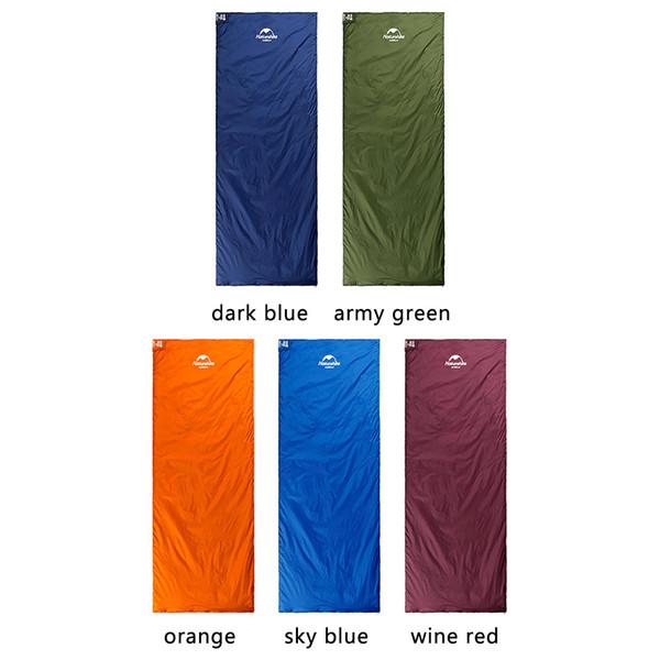 Sacs de couchage, couleurs de message