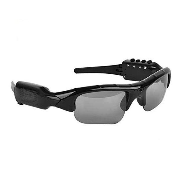 Gafas de sol Bluetooth Cámara, Gafas de cámara Full Hd 1080P Gran angular Mini cámara Drive, Ciclismo, Pesca, Motocicleta Outdoor S