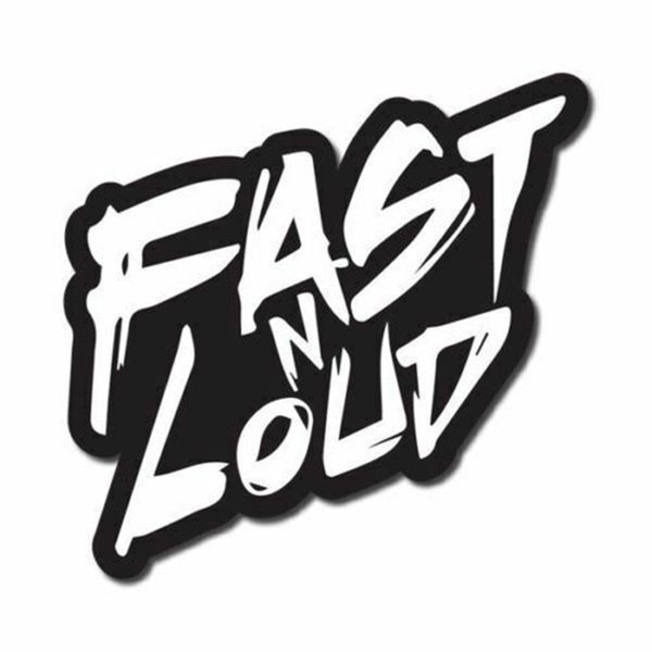 15*14.5cm Fast N Loud Sticker / Decal - Monkey Motorcycle SUVs Bumper Car Window Laptop Car Stylings Car Decor