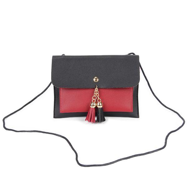 Coins Phone Money Holder Women Mini Small Pu Leather Shoulde Bag Tassel Crossbody Bags good quality