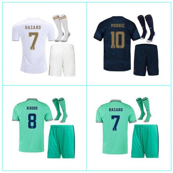HAZARD real Madrid soccer jerseys 2019 2020 camiseta de fútbol 2019 2020 VINICIUS ASENSIO Woman football shirt kids kit camisa de futebol