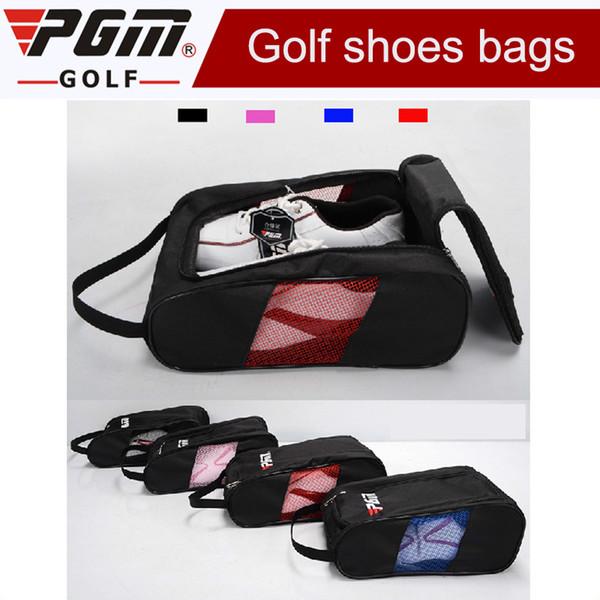 2017 Marka Yeni Golf Ayakkabı Çanta Golf Ayakkabı Paketi Kadın Yüksek dereceli Naylon Işık Pratik 4 Renkler erkekler için seyahat ayakkabı çantası