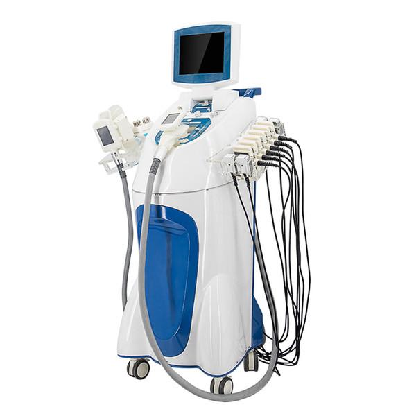 Venta caliente! Máquina de congelación de grasa para adelgazar velashape multifuncional adelgazar cintura