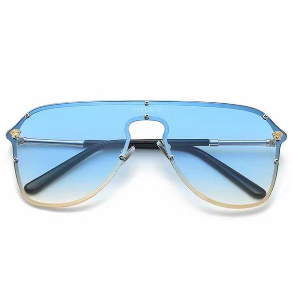 New Fashion 3535 Occhiali da sole Luxury Designer Occhiali da sole Vintage Mens Designer di marca Gold Frame Occhiali da sole Scatola di spedizione gratuita