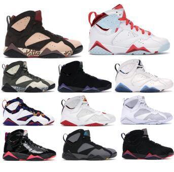 mens 7 basketball shoes patta icicle shimmer bordeaux hare z mist nothing but net pure platinum brown patent 7s zapatos sneakers