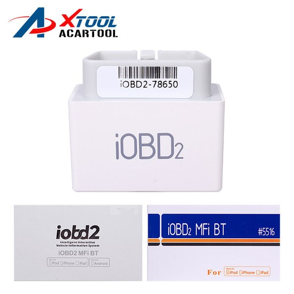 XTOOL iOBD2 Diagnostic Tool for BMW iPhone/iPad Code Scanner by Bluetooth Support OBDII/EOBD Protocol Car Diagnose