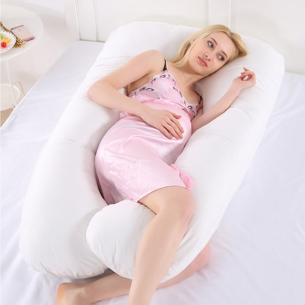 70*130CM Pregnant Women U Shape Bedding Cushion Pregnancy Side Sleeper Pillow Full Body Maternity Sleeping Pillow Breastfeeding