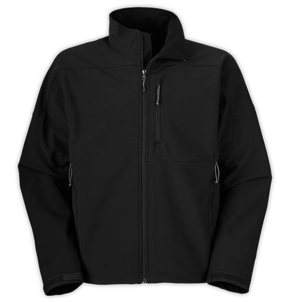 Hommes coupe-vent Designer Hommes Noir Nord Vestes Nouveau Mode Manteau Zipper col montant Sport À Capuche Visage Vestes Survêtement S-2XL