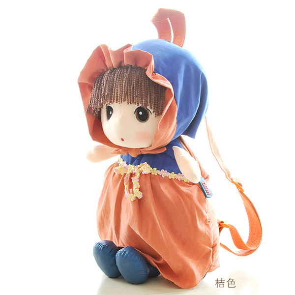 Cute Little Girls Kids Backpack Children Cartoon Toy Schoolbag Kindergarten Student Bags Mochila Children's Gifts Pt696