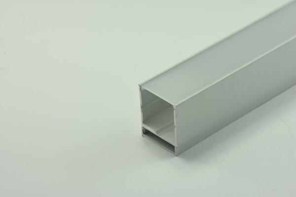 DHL GY020S libre 1M 39.4 '' Carcasa LED de aluminio de superficie con brida Canal LED para 5050 5630 Tira LED de múltiples filas