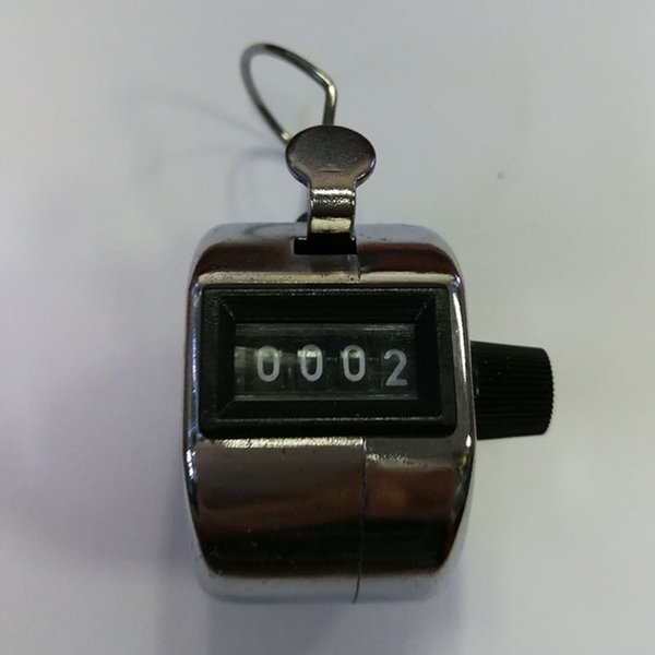 Digital Hand Tally Counter 4 Digit Number Hand Held Tally Counter Manual Counting Golf Clicker Training